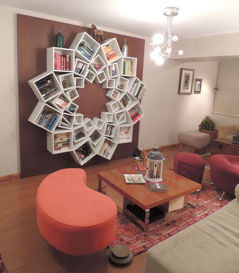 10 creatieve ideeën voor doe-het-zelf boekenkasten | Tips voor mooie ...