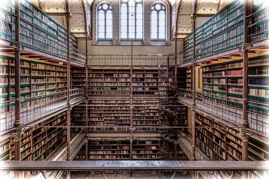 De 10 mooiste bibliotheken van nederland for Bibliotheek amsterdam