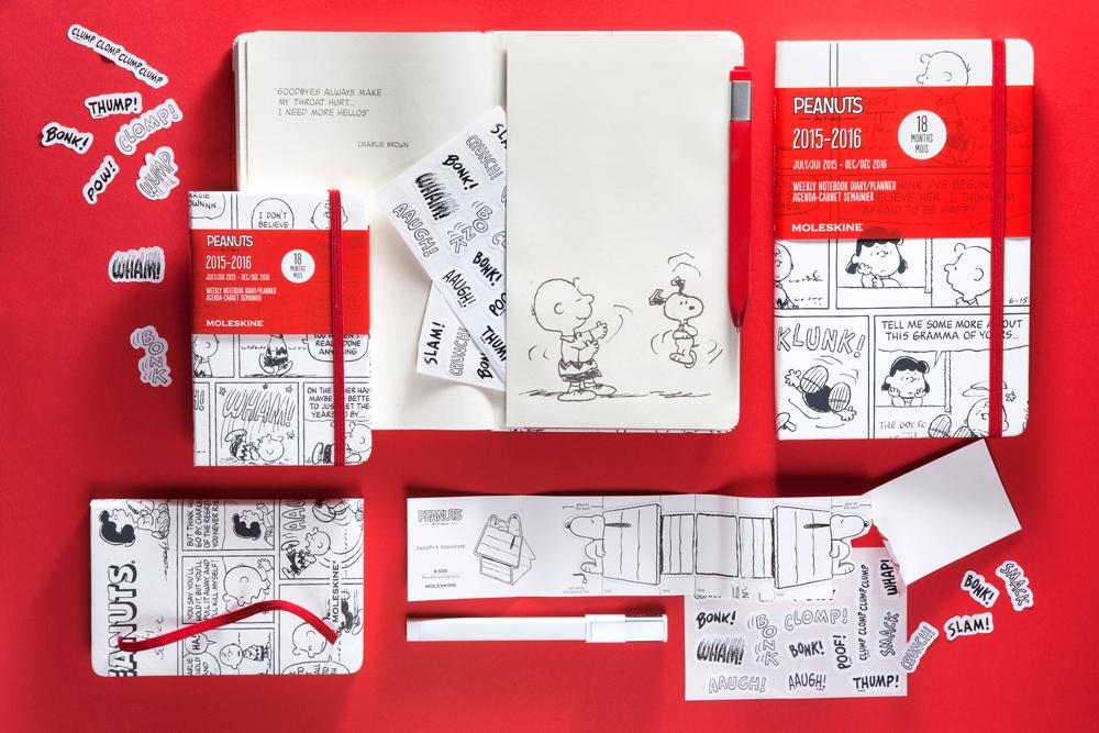 Zoek je een nieuwe agenda voor 2015 en 2016? En houd je van de strip Peanuts? Dan mag je deze Moleskine-agenda niet missen, die loopt van juli 2015 tot en met december 2016.