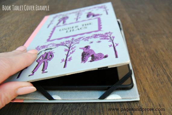 Stel zelf een mooie cover voor je iPad Mini samen. Gevonden op Etsy.