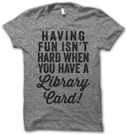 Inderdaad, als je lid bent van een bibliotheek is plezier hebben helemaal niet moeilijk!