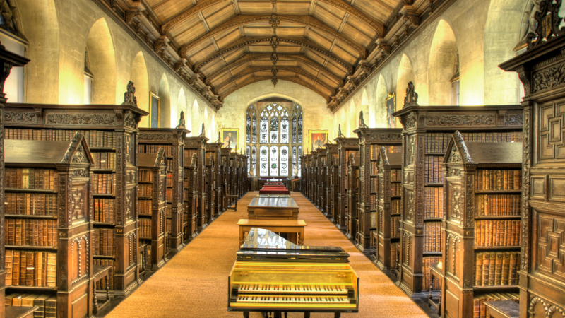 Image result for St. John's College Old Library, University of Cambridge (Cambridge)