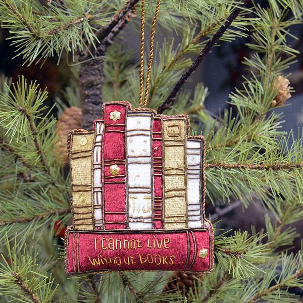 Al je gasten weten met deze kersthanger precies waar jij niet zonder kan!