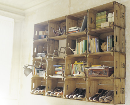 Uitzonderlijk 10 creatieve ideeën voor doe-het-zelf boekenkasten   MustReads.nl OT58
