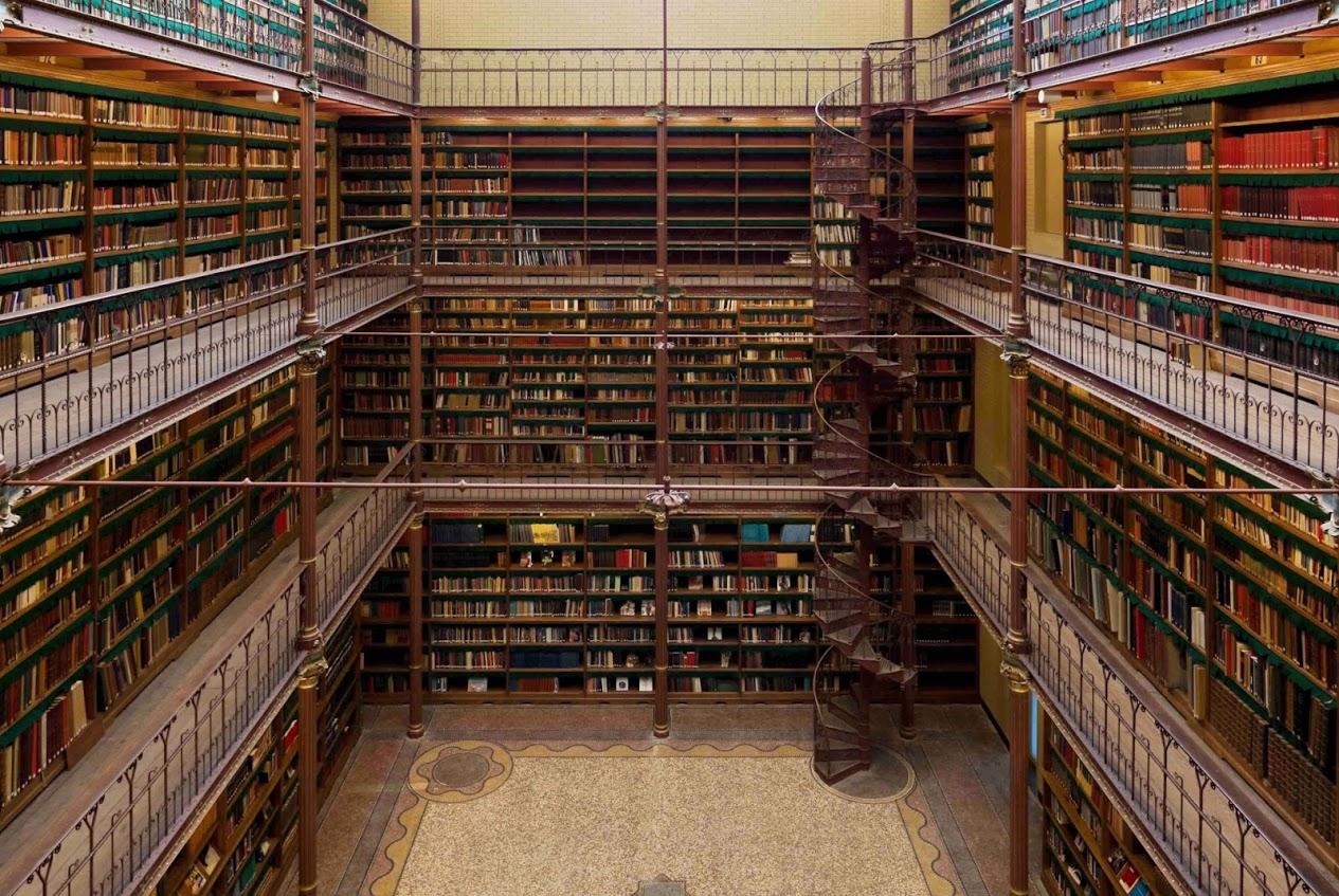 De Cuypersbibliotheek is de grootste en oudste kunsthistorische bibliotheek van Nederland en is na een intensieve restauratie, geheel in originele staat teruggebracht. (Foto: Rijksmuseum)