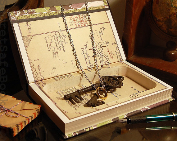 Iets te verbergen? Doe het dan in deze geheime boekenkluis. Van buiten lijkt het net een doodnormale versie van The Hobbit, die je gewoon tussen je boeken kan zetten. Binnenin heb je echter genoeg ruimte om allerlei geheime dingen in op te bergen..