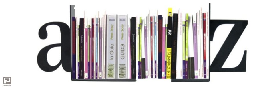 Boekensteunen zijn altijd leuk voor in je boekenkast of op je boekenplanken. Lezen doe je van a tot z!