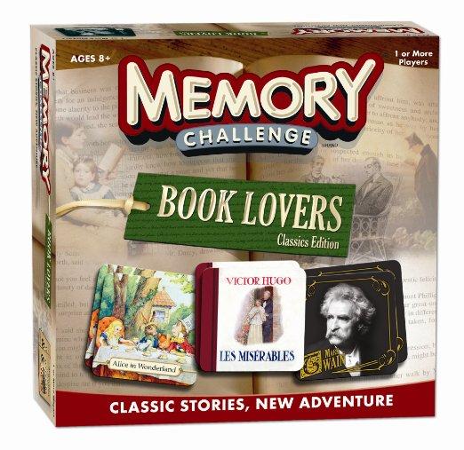 Brings back memories.. Niet alleen leuk voor kinderen, dit memory spel heeft een boekenthema!