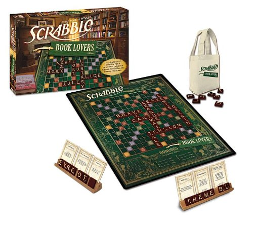Scrabble for Book Lovers, hoe mooi is dat! 'A must-have game for anyone who loves books and to spend time with friends and family'