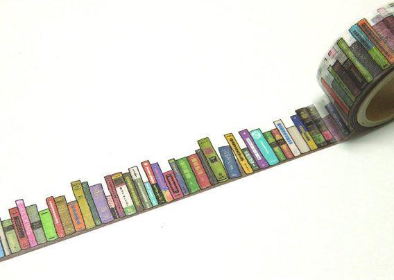 Dit boekentape staat super op al je paperassen.